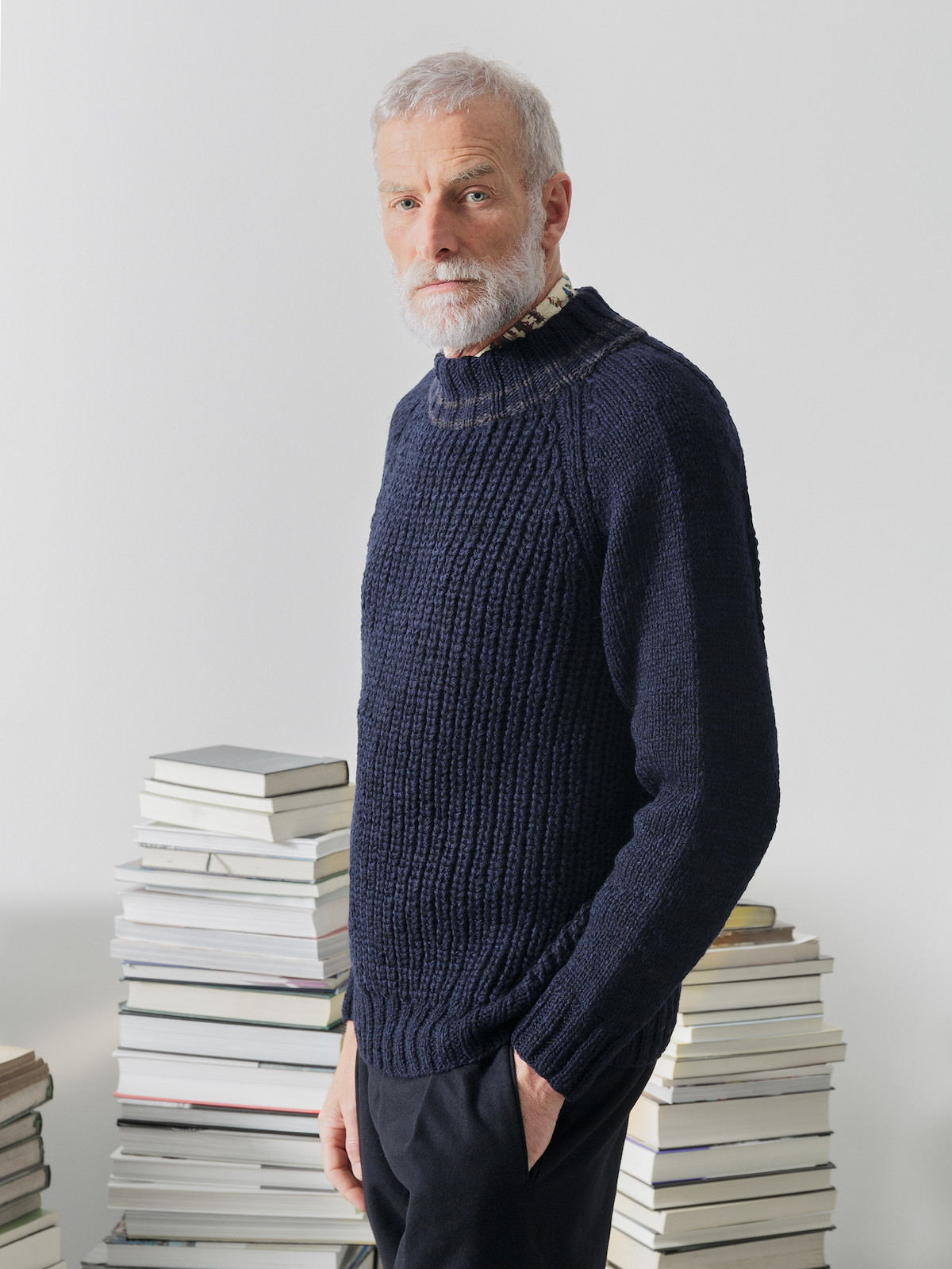 Double neck fisherman sweater Image