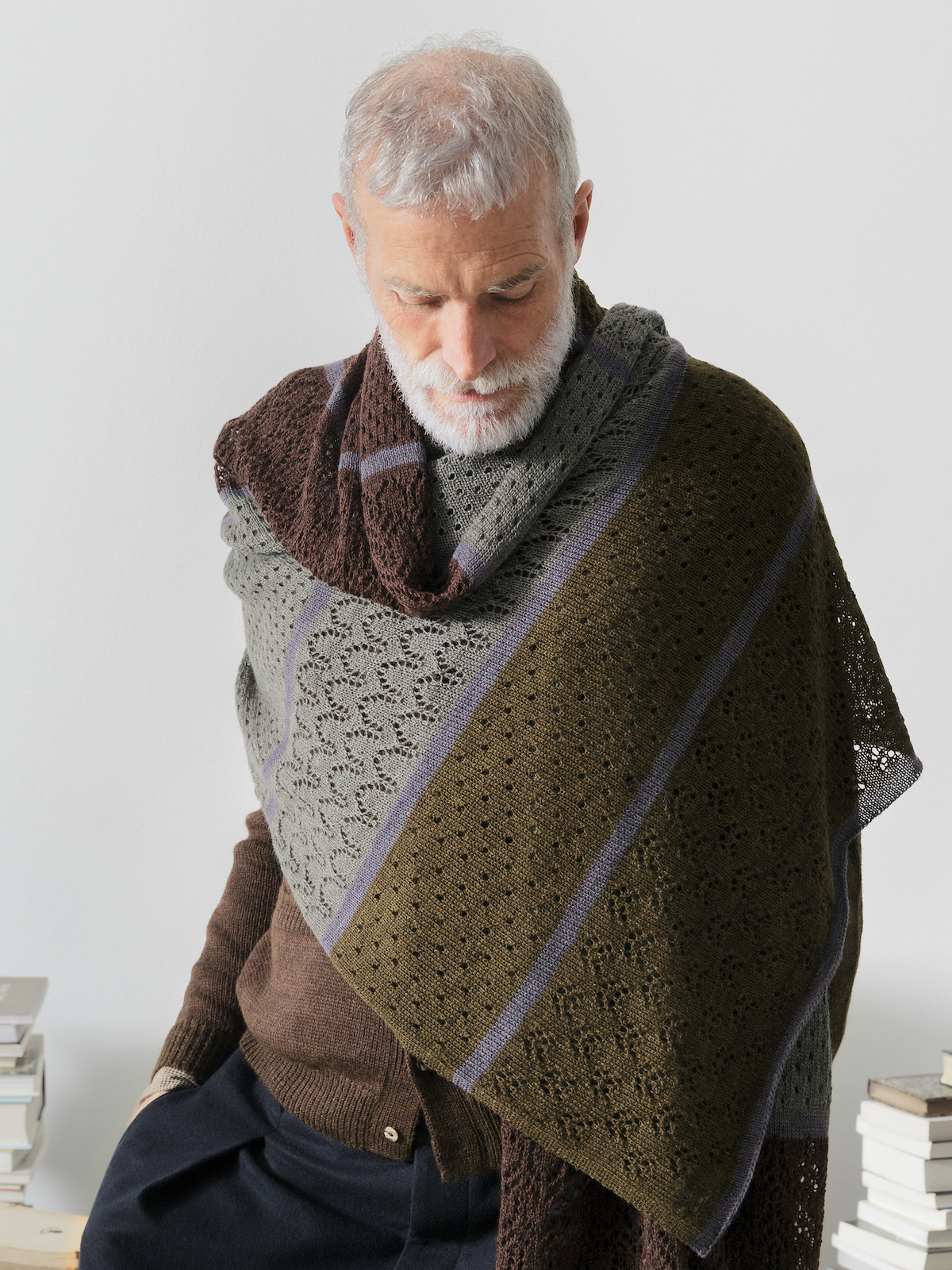 Long patchwork scarf Image