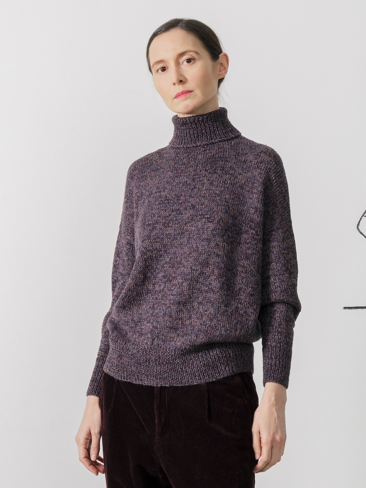 High-neck sweater Image