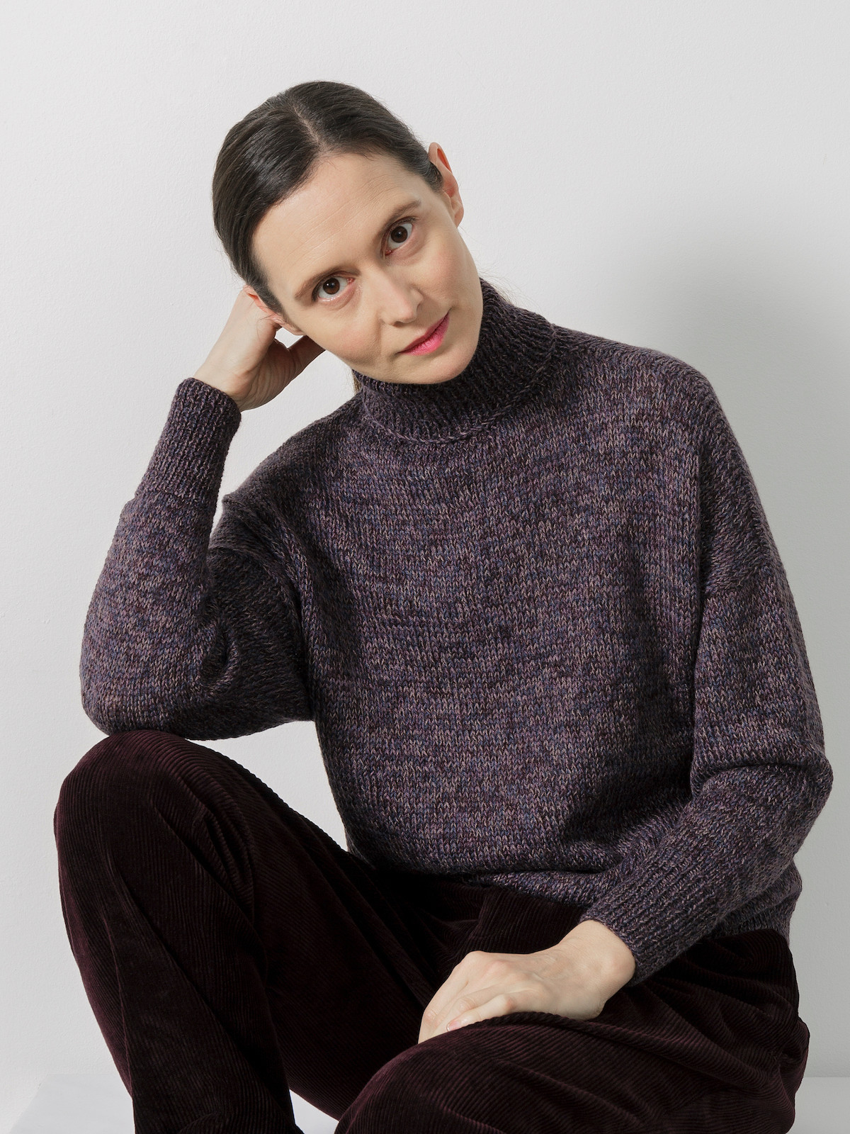 High-neck sweater Image