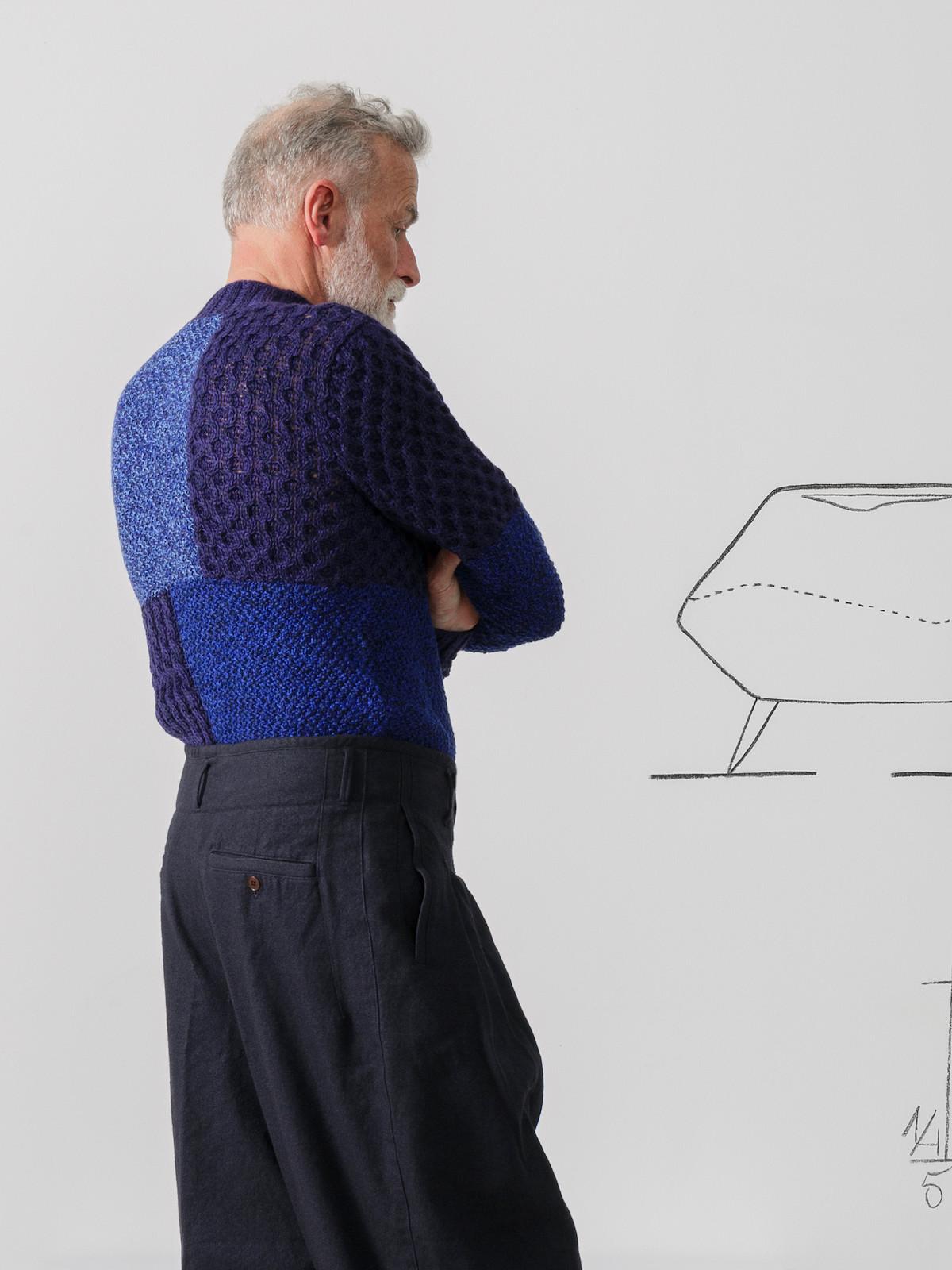 Mosaic patterns sweater Image