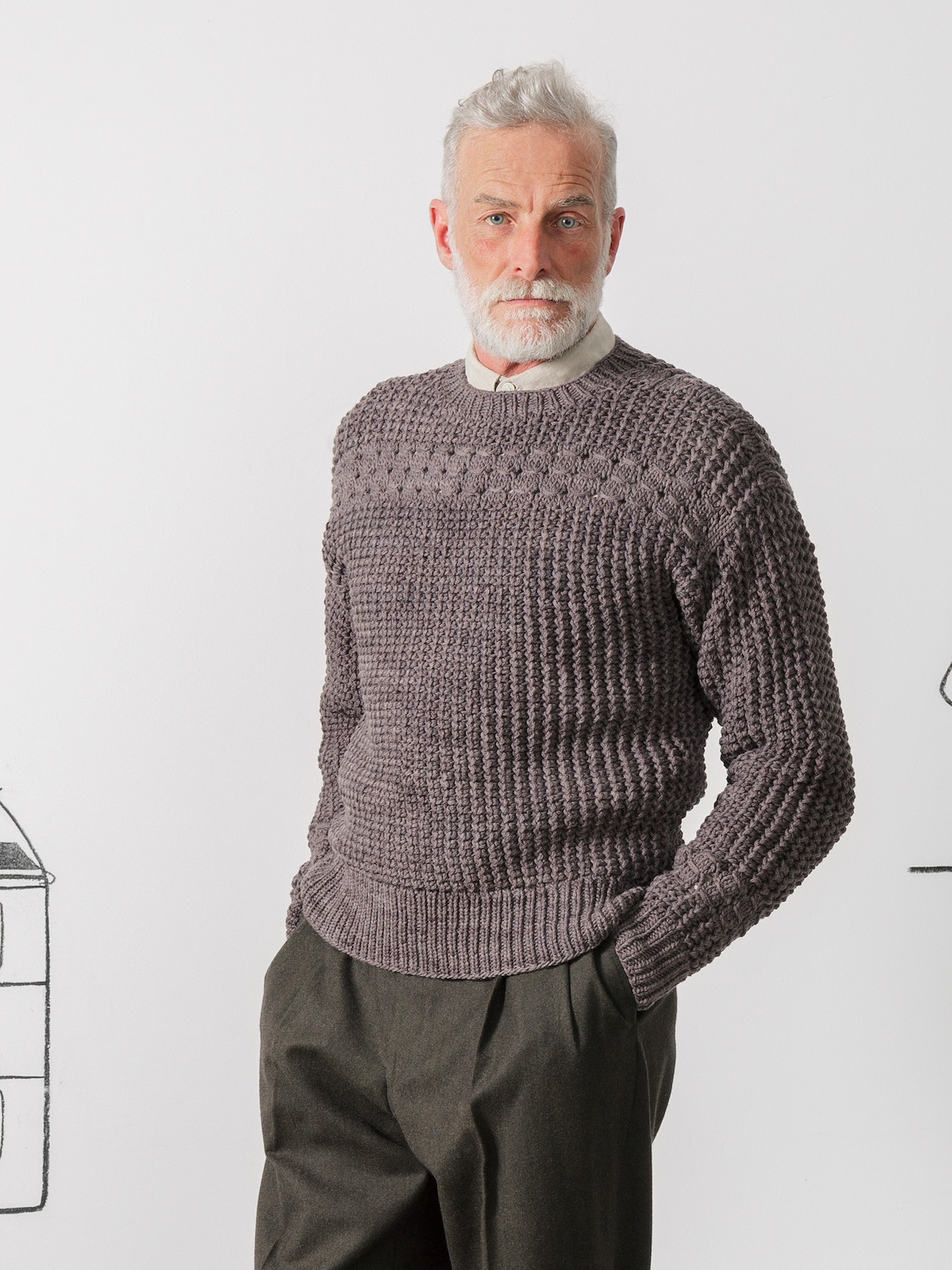 Open work sweater Image