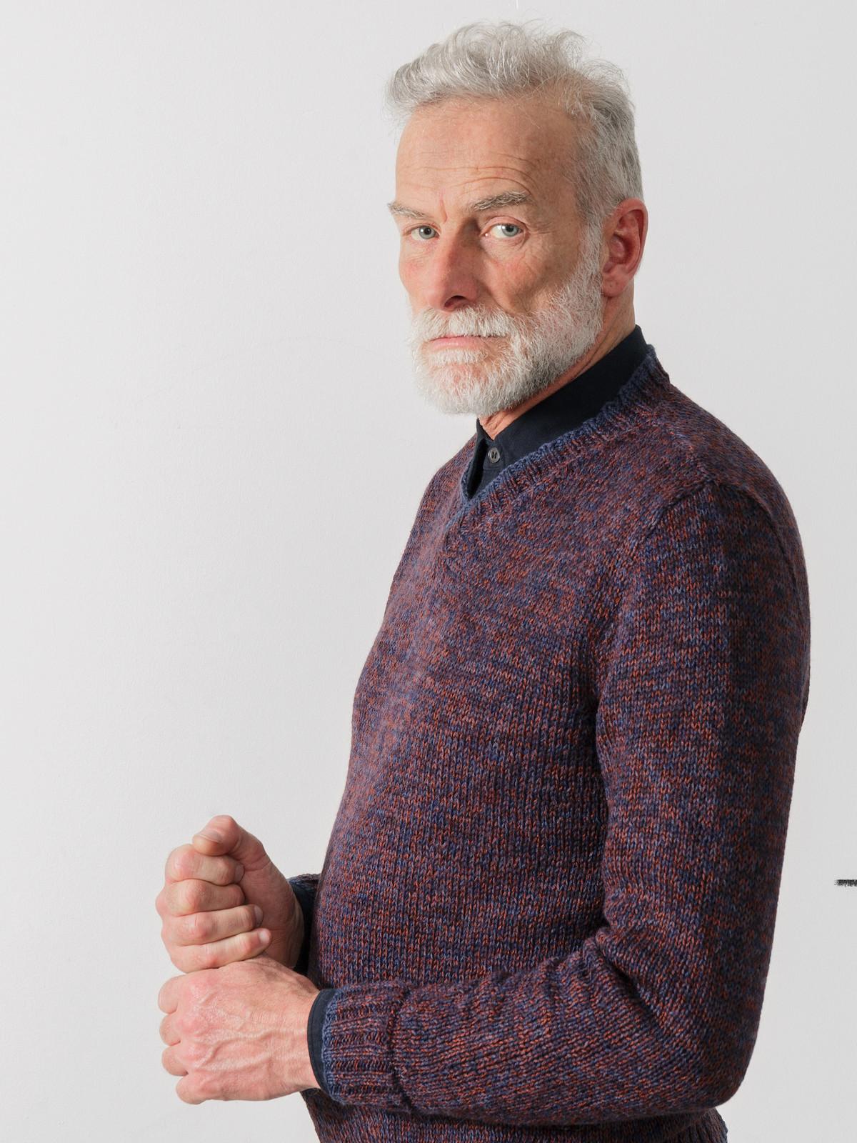 V-neck sweater Image