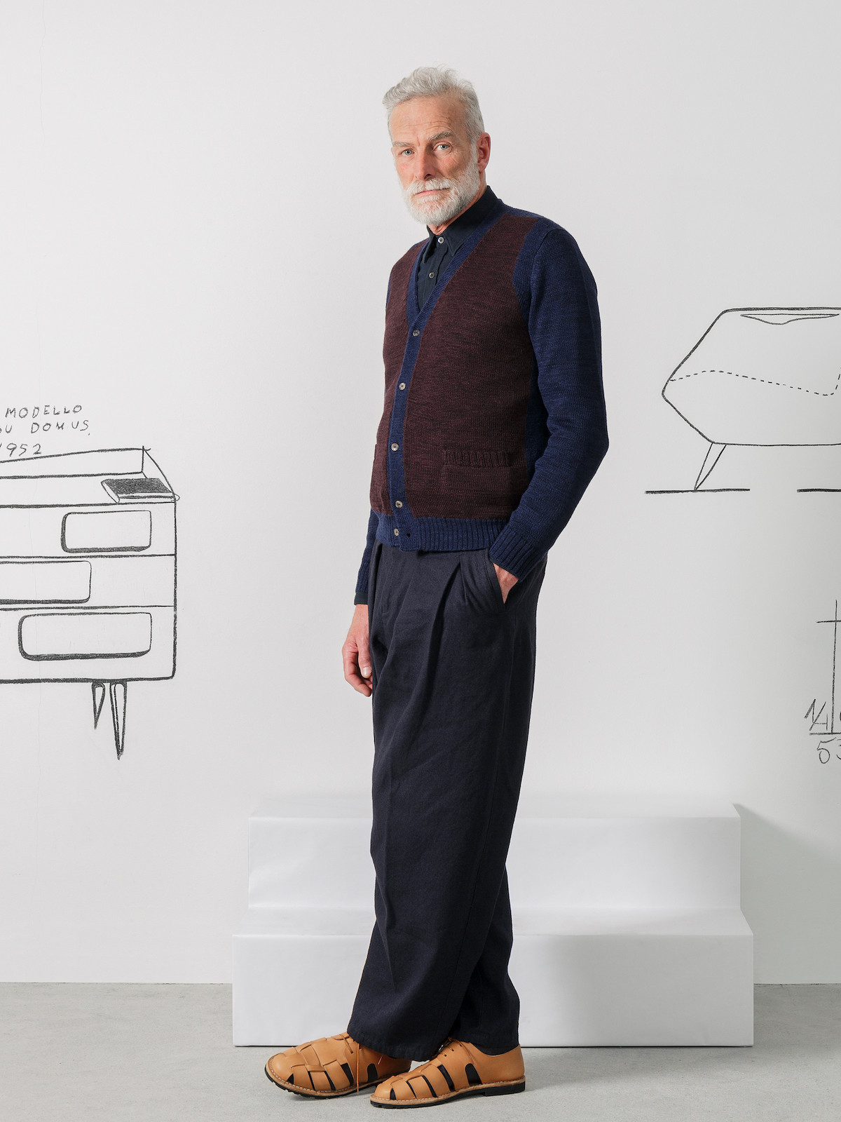Two-tones cardigan Image