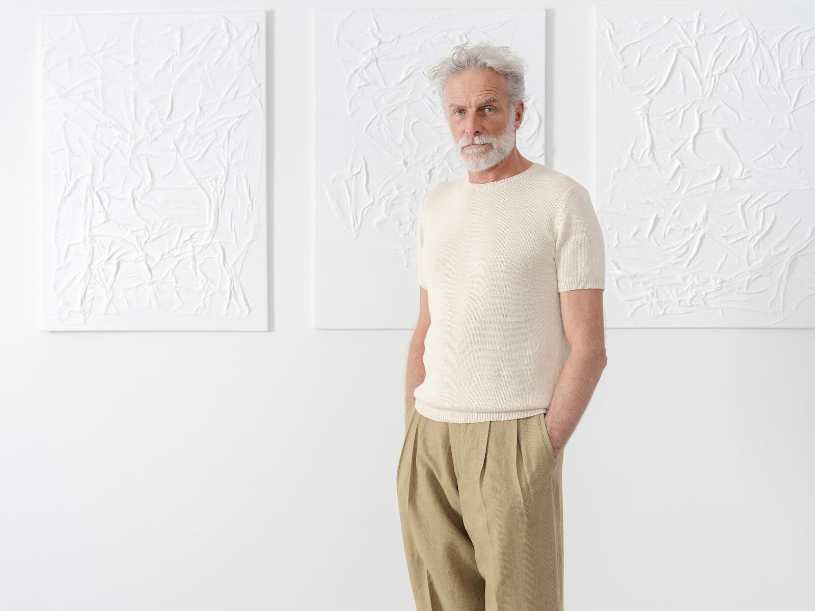 Knit t-shirt Image