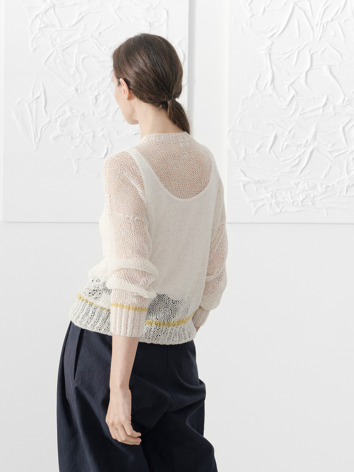 A-line lacy sweater Image