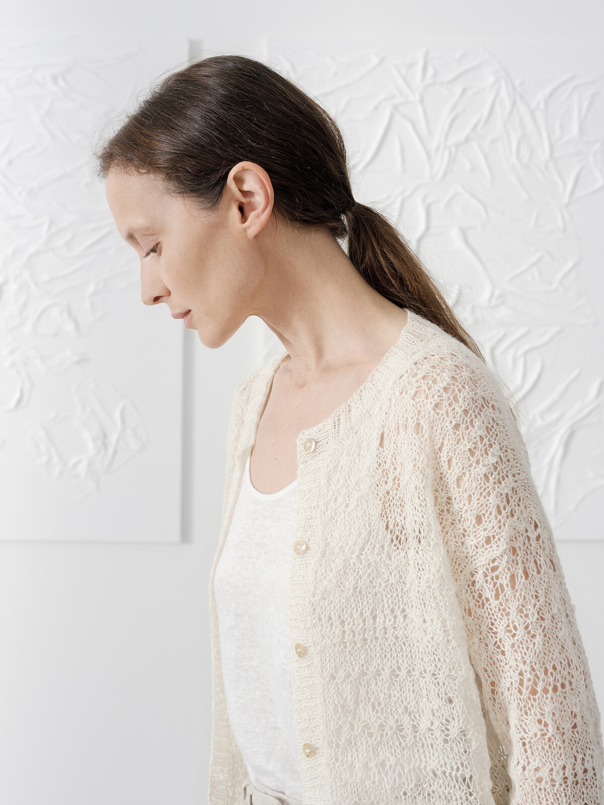 Lacy cardigan Image