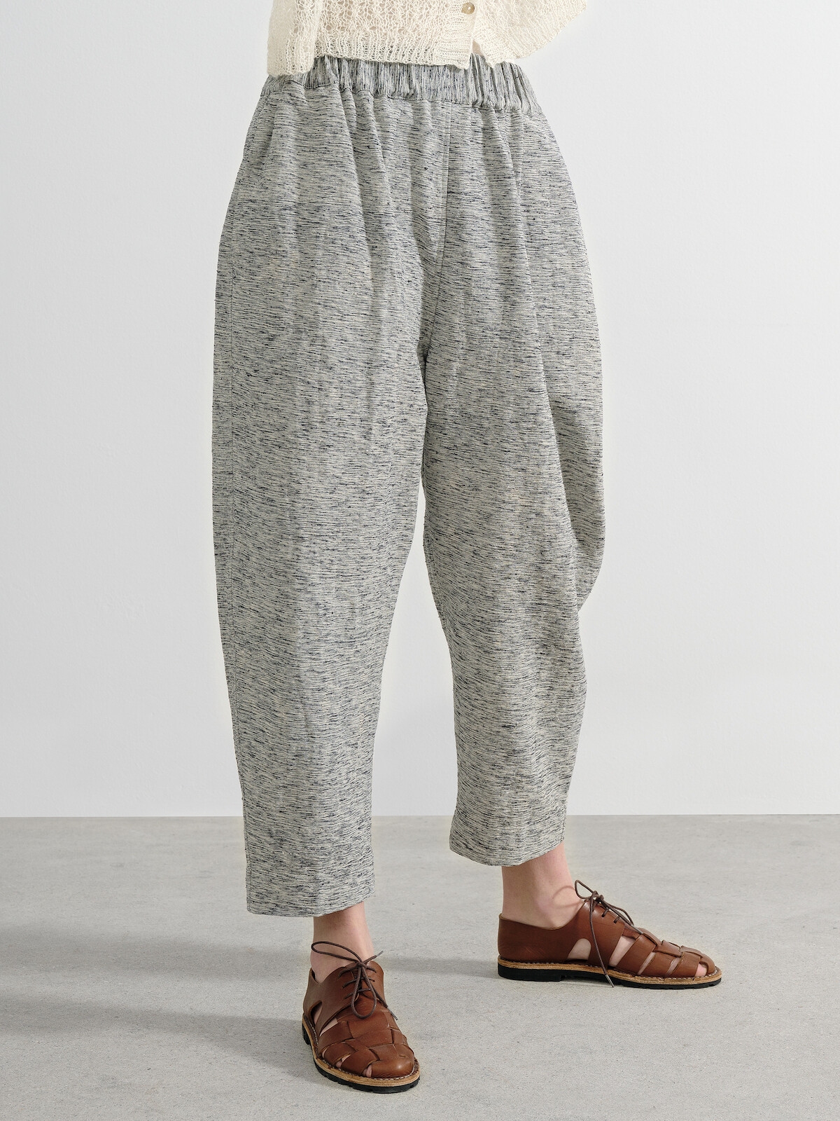 Silk trousers Image