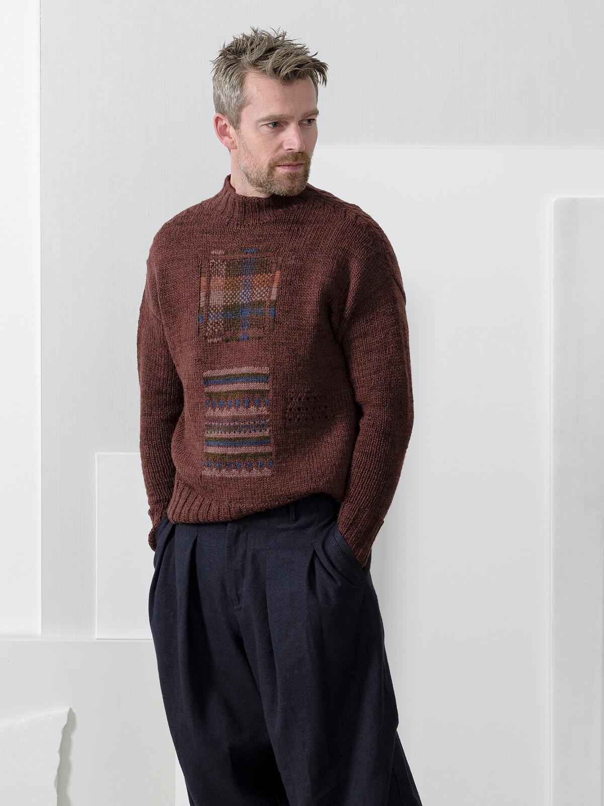 Mending sweater