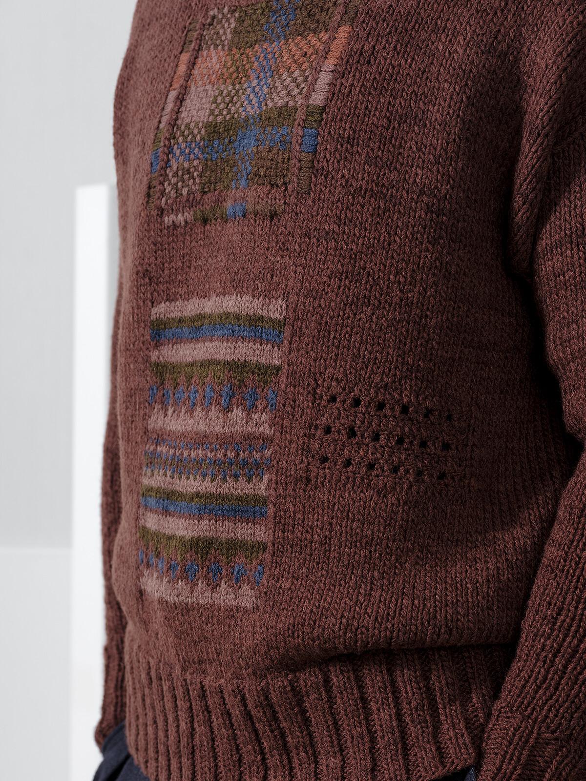 Mending sweater Image