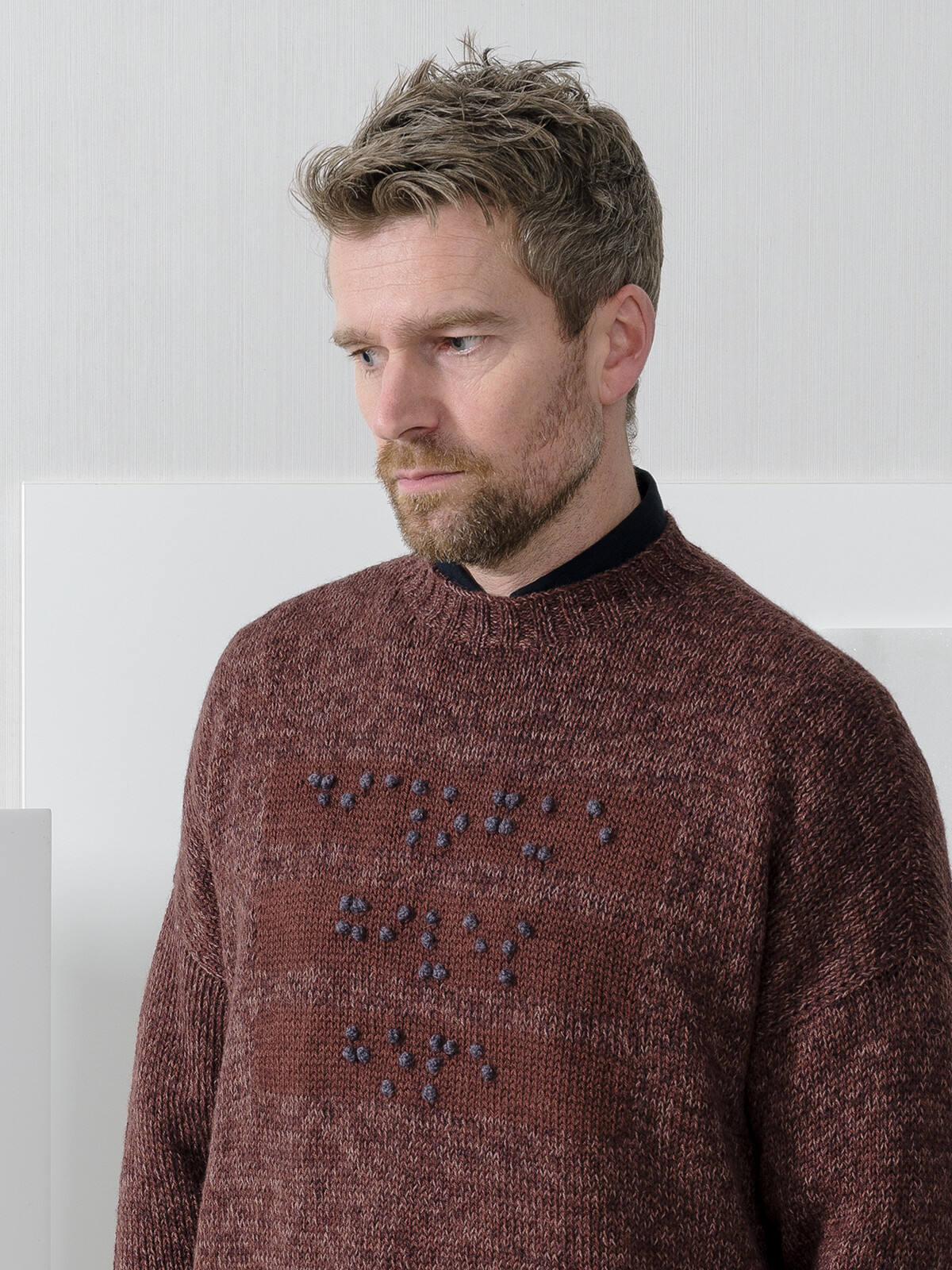 Braille sweater Image