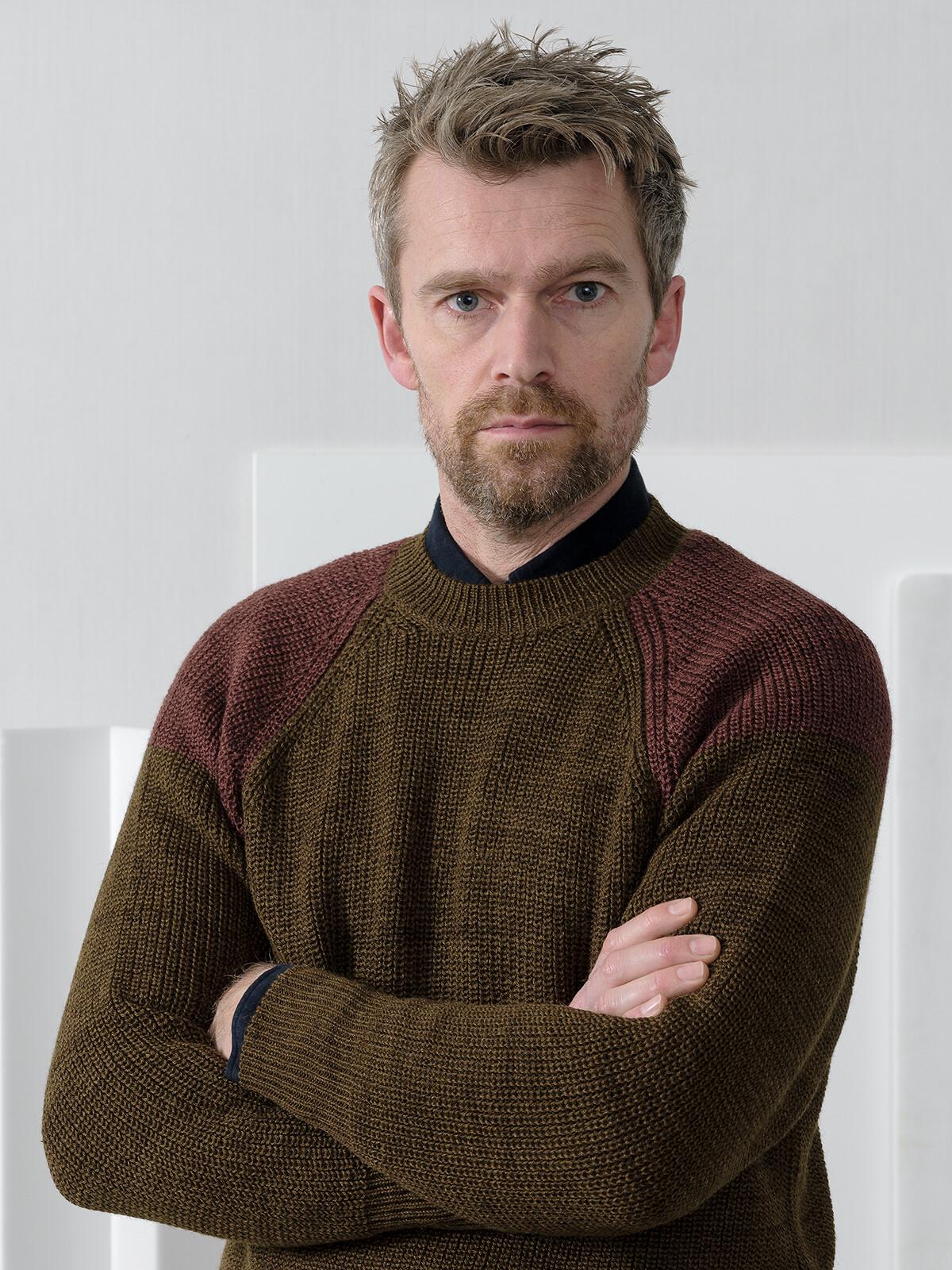Raglan fisherman sweater Image