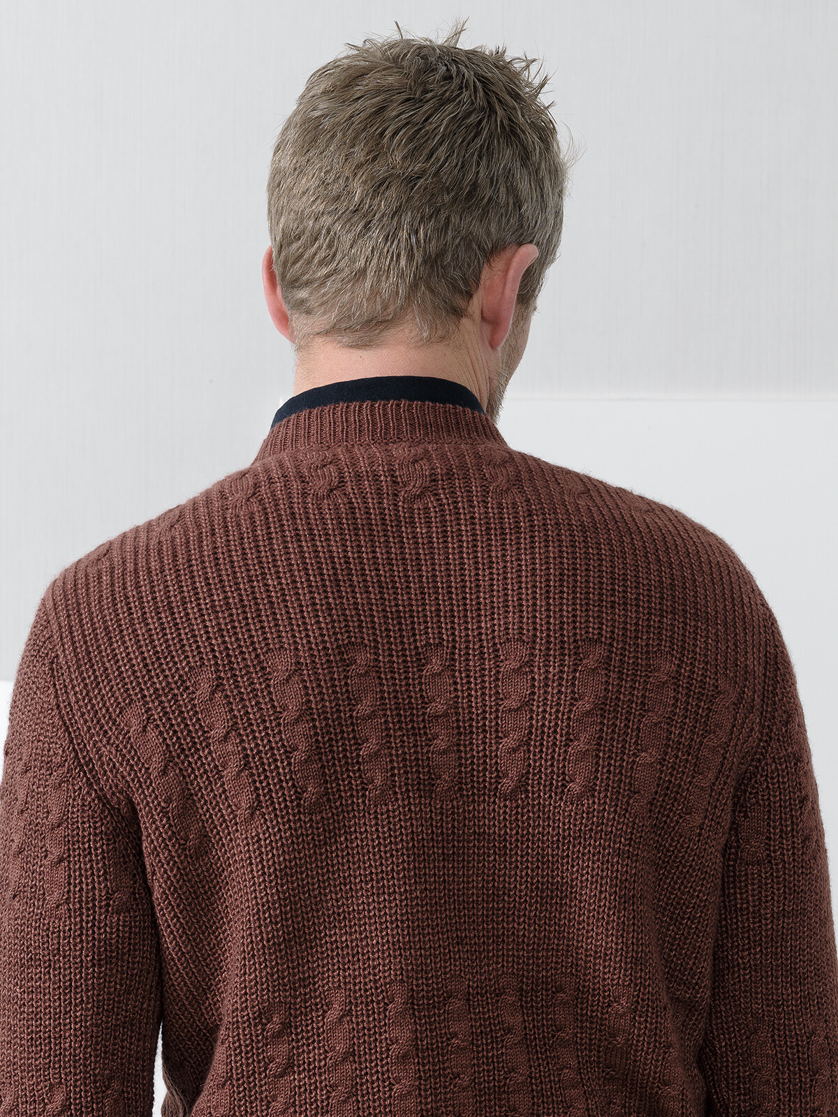 Braided sweater Image