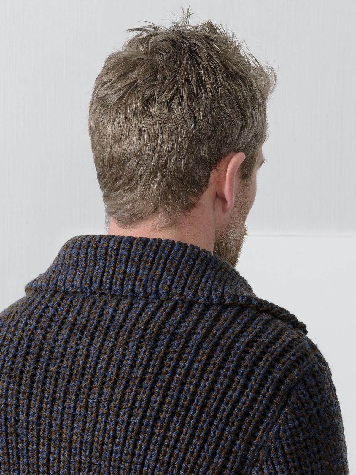 Collar fisherman cardigan Image