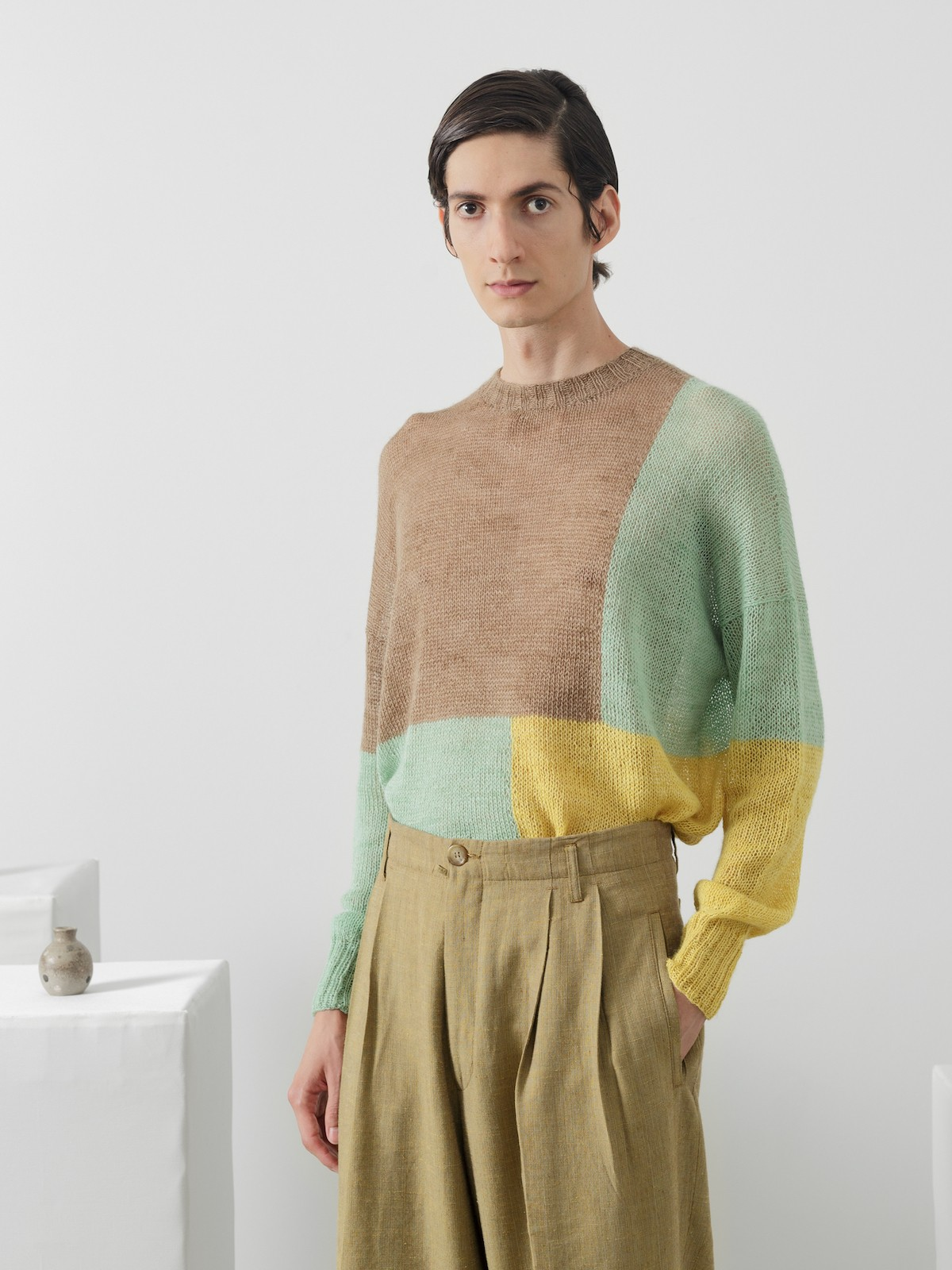 Color blocks sweater Image