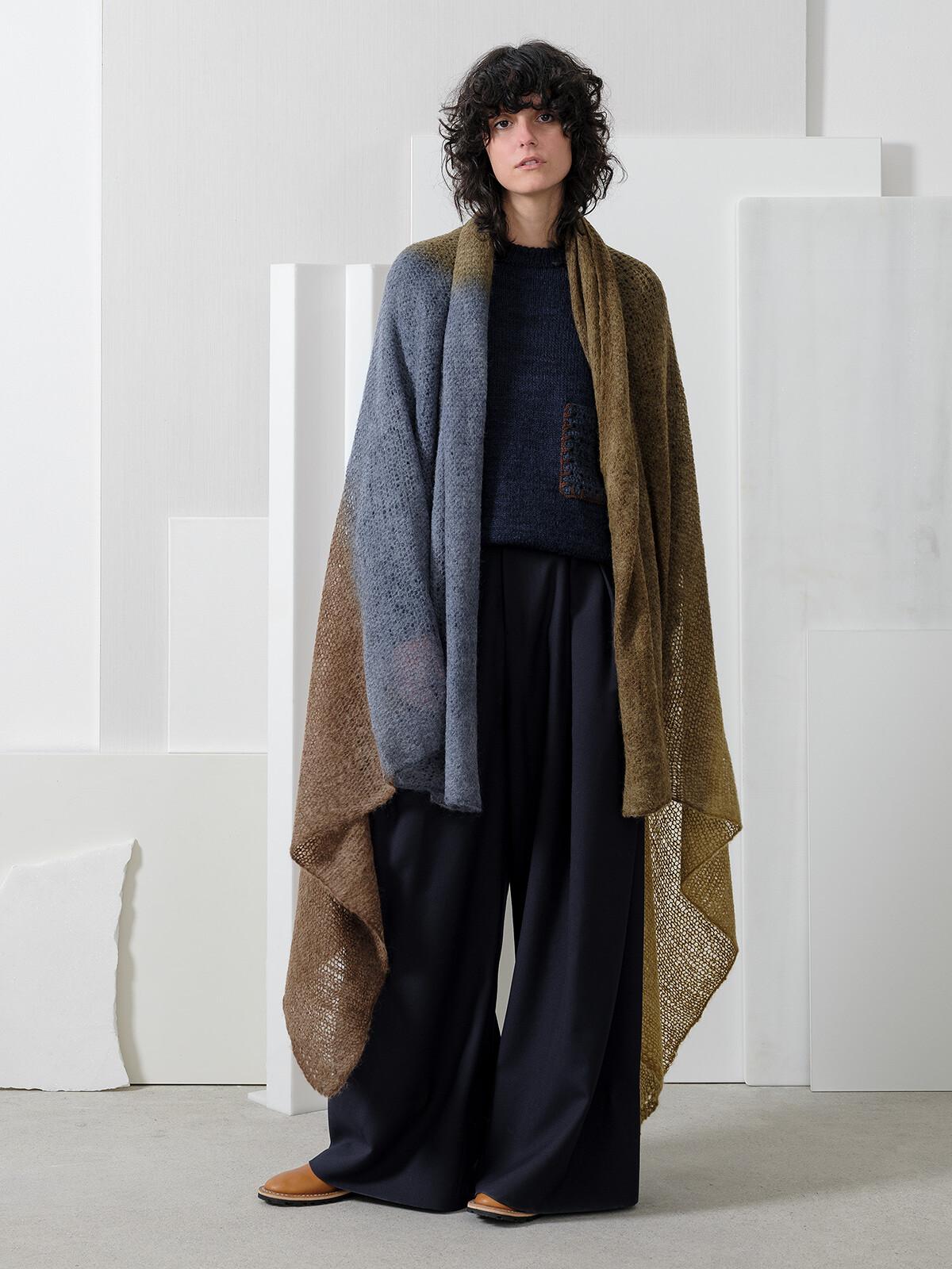 Handpainted blanket