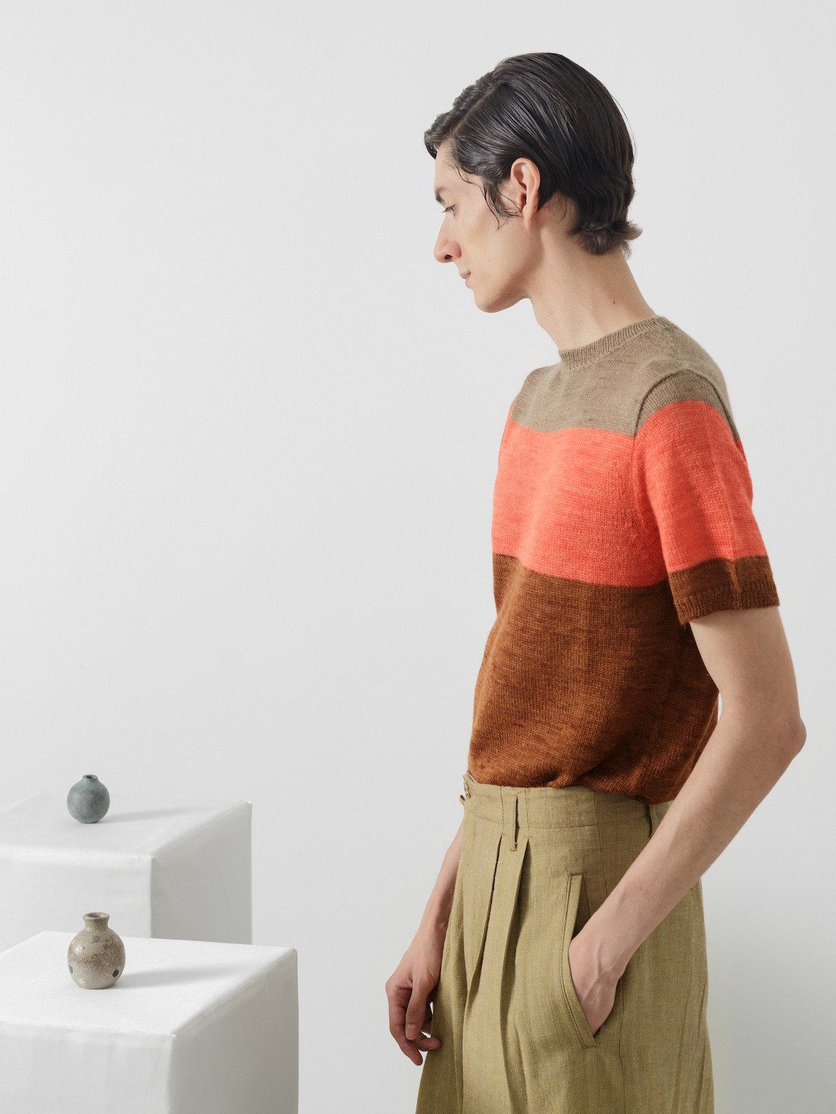 Striped t-shirt Image