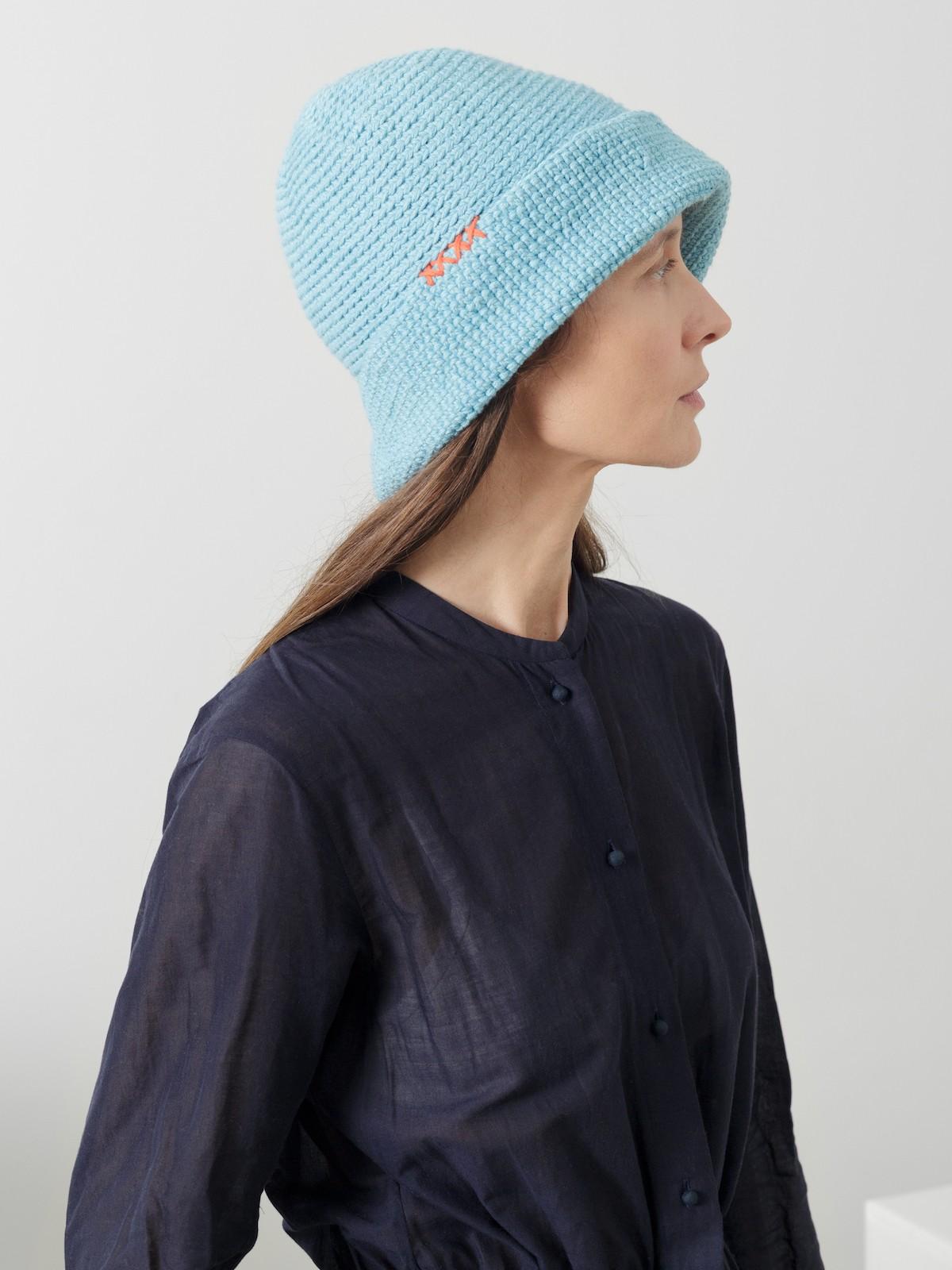 Crochet boat hat Image