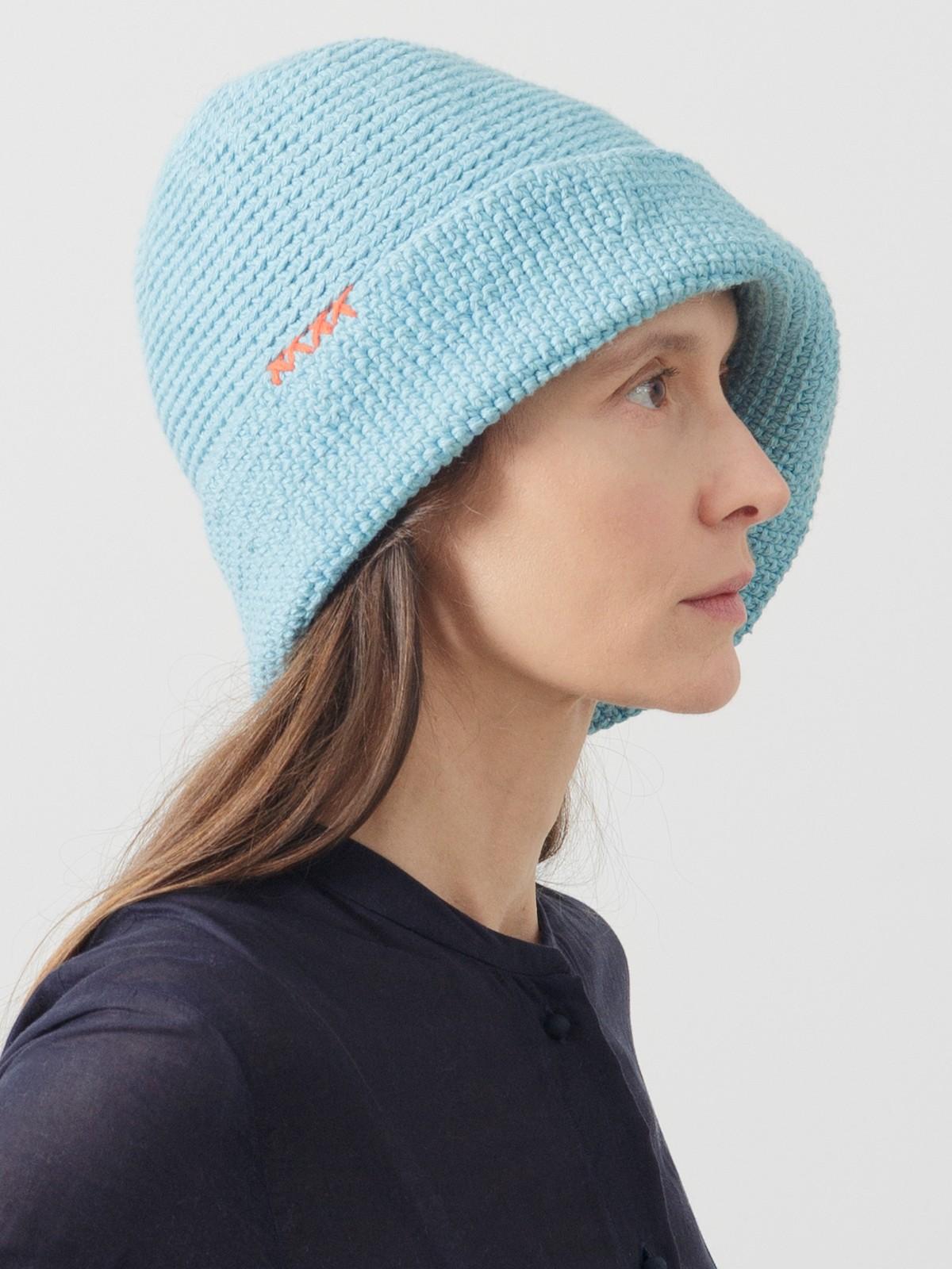 Crochet boat hat