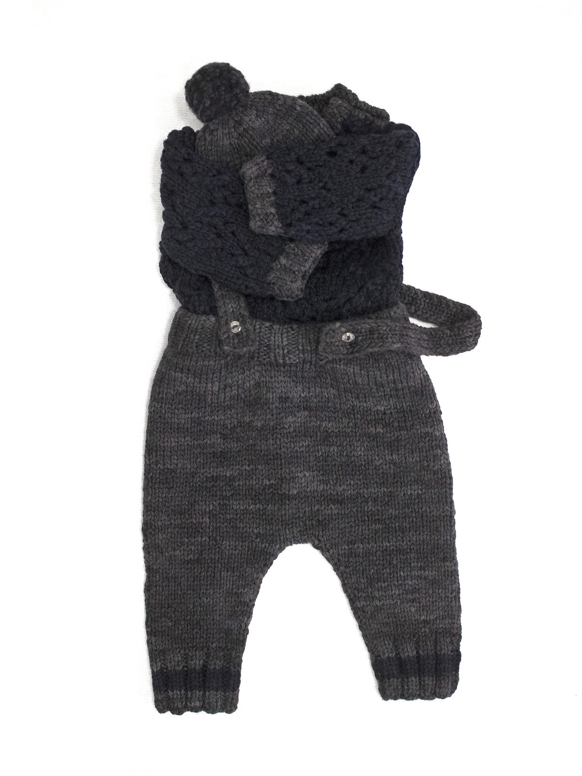 Baby open-knit kit Image
