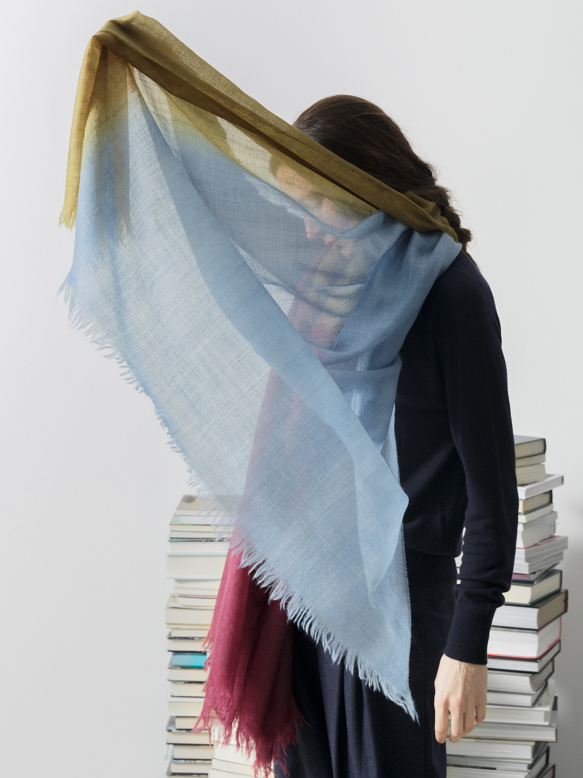 Handpainted scarf Image