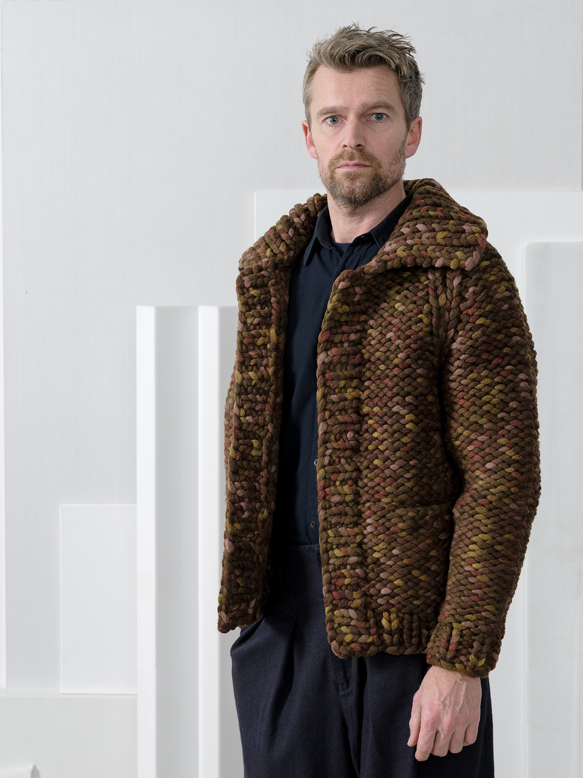 knitbrary Man collection