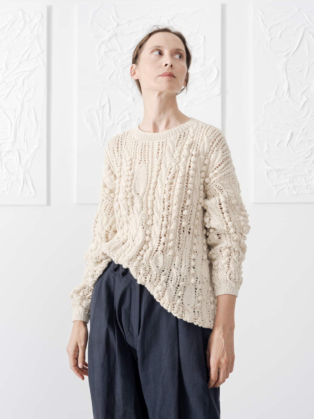 Knots & ropes sweater | KNITBRARY