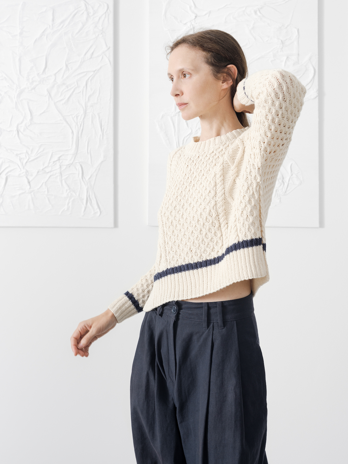 Cables sweater | KNITBRARY